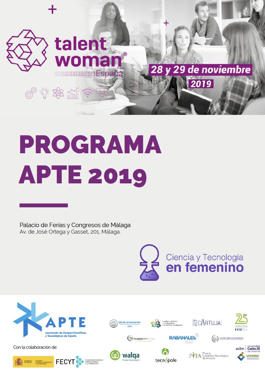 APTE culminará la 2º edición de su proyecto Ciencia y Tecnología en femenino en Talent Woman