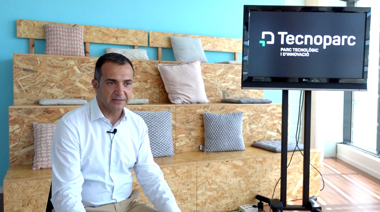 Entrevistamos a Eduard Vicente, responsable del Tecnoparc, Parc Tecnològic i d'Innovació