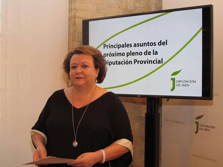 Entrevistamos a Pilar Parra Ruiz, vicepresidenta de la Diputación de Jaén y responsable de Geolit