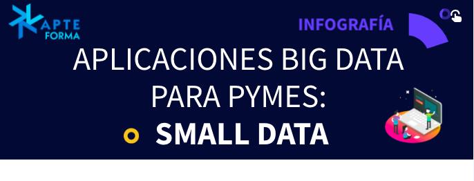 Infografía Aplicaciones Big Data para PYMEs: Small Data