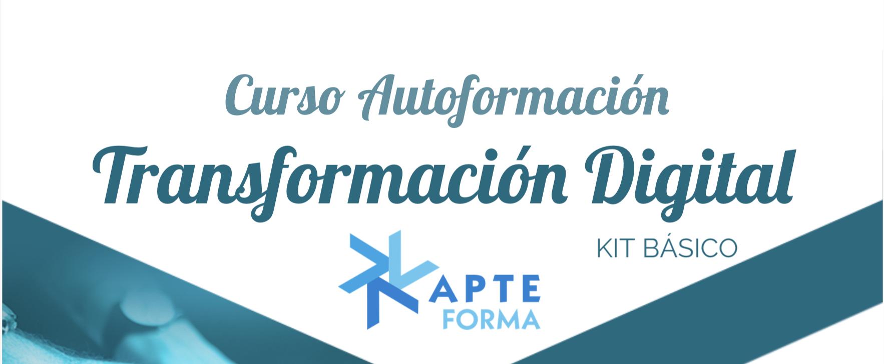 Infografía Curso Autoformación Competencias para la Transformación Digital de la Empresa