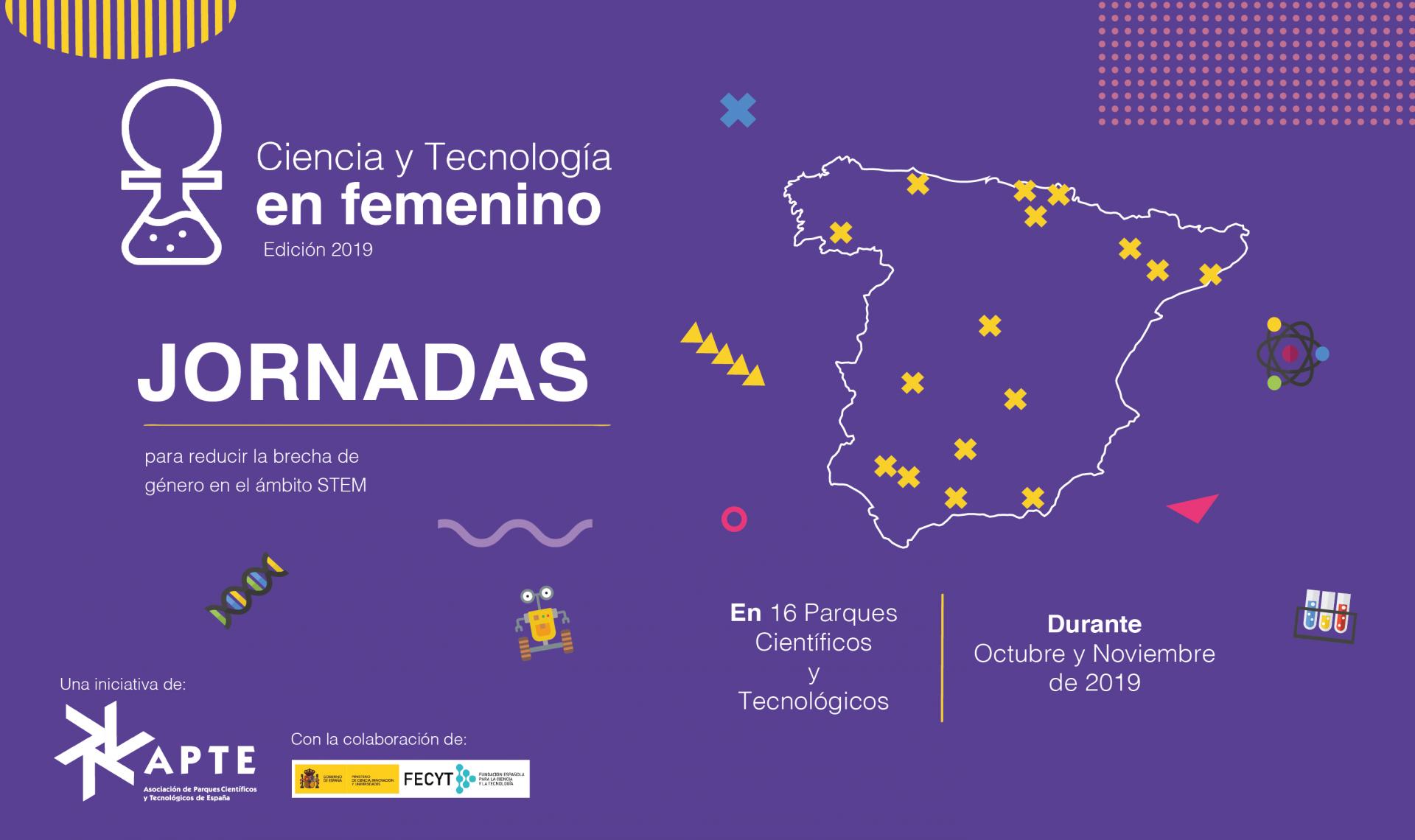 Los parques científicos y tecnológicos españoles acercarán desde hoy las STEM a más de 2000 estudian